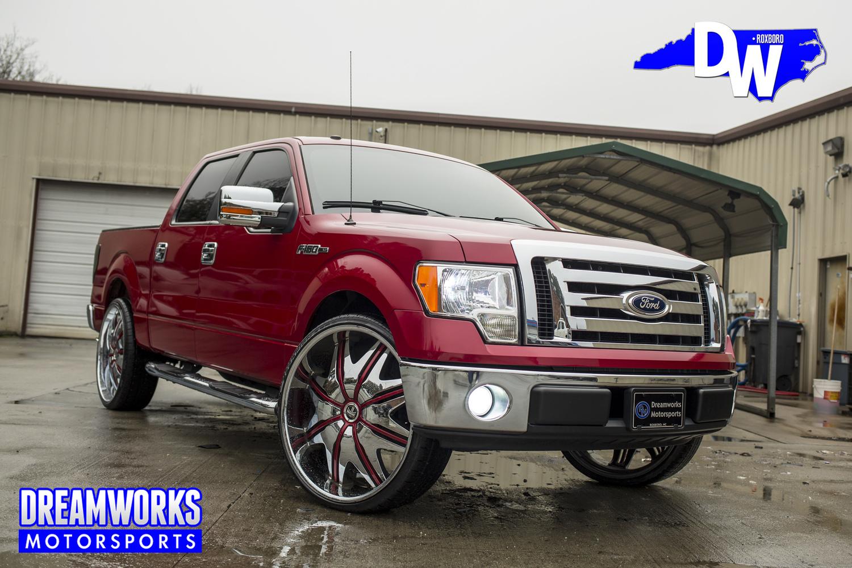 Robert-Quinn-NFL-LA-Rams-UNC-Tarheels-Ford-F250-Dreamworks-Motorsports-1