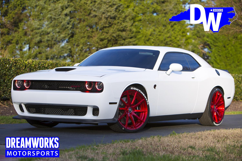Eric-Ebron-UNC-Detroit-Lion-Tarheels-Dodge-Challenger-Hellcat-Dreamworks-Motorsports