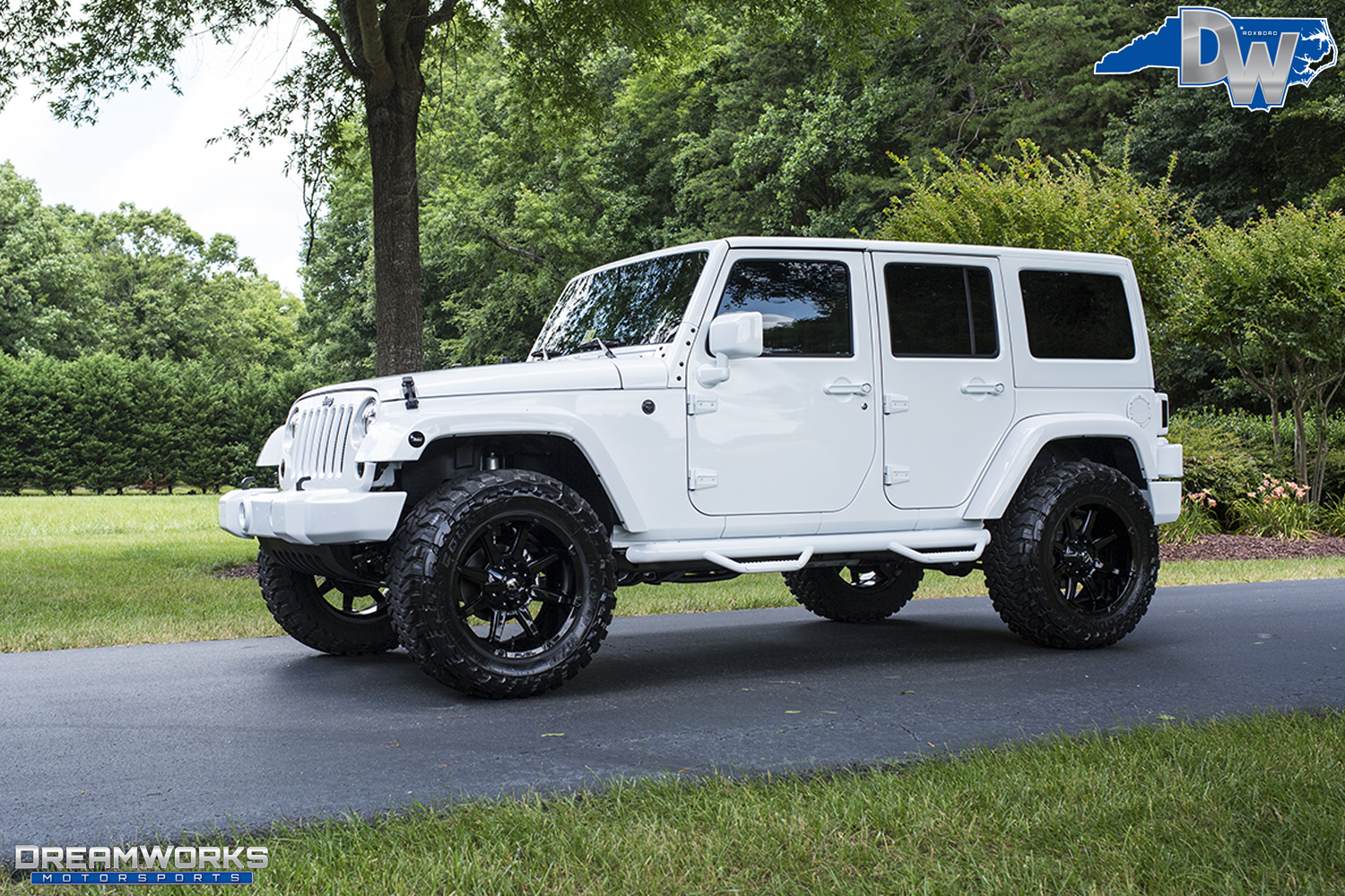 All White Jeep Wrangler >> Jeep Wranglers Gallery Dreamworks Motorsports