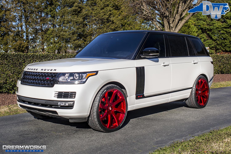 Uitgelezene Range Rover — Dreamworks Motorsports IB-41
