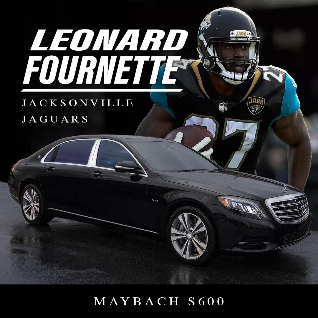 Leonard Fournette Jacksonville Jaguars | Maybach S600