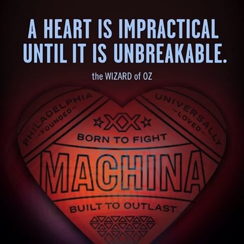 Another great #wizardofoz quote for inspiration. #machinaboxing #womensboxing #spitfirebelchsmoke #unbreakableheart