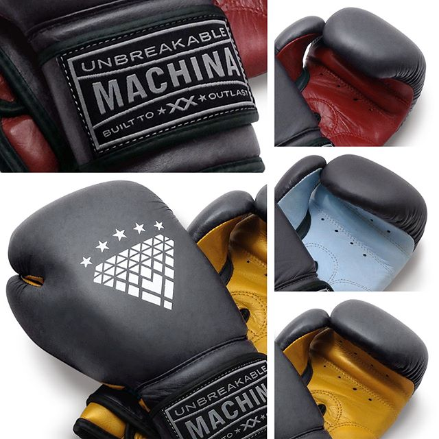NEW! Introducing Machina Carbonado Color Block gloves available now in 12, 14, and 16oz. Charcoal gray exterior with contrasting color palm.  #machinaboxing #seriousgear #womensboxing #carbonado #boxingisbeautiful #spitfirebelchsmoke