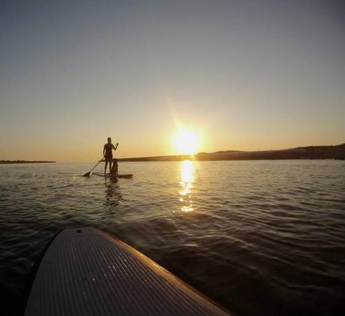 Lake Michigan Paddle Boarding