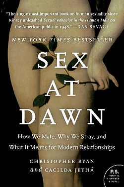 """Cover for the book """"Sex at Dawn"""""""