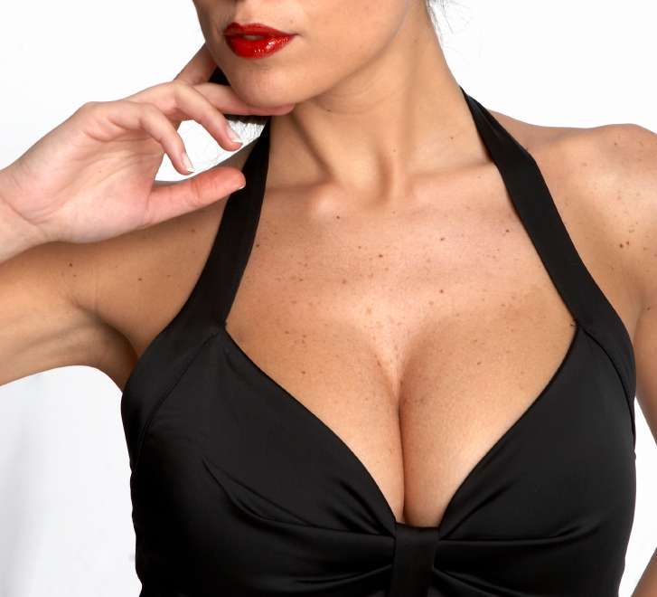 Consistent with genital echo theory, cleavage does look a lot like the rear end, doesn't it?