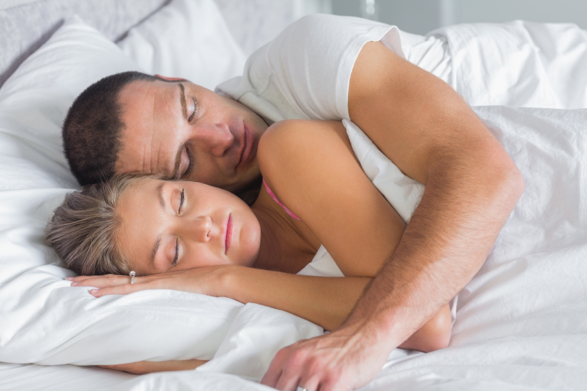 Couples who spoon more after sex tend to be happier