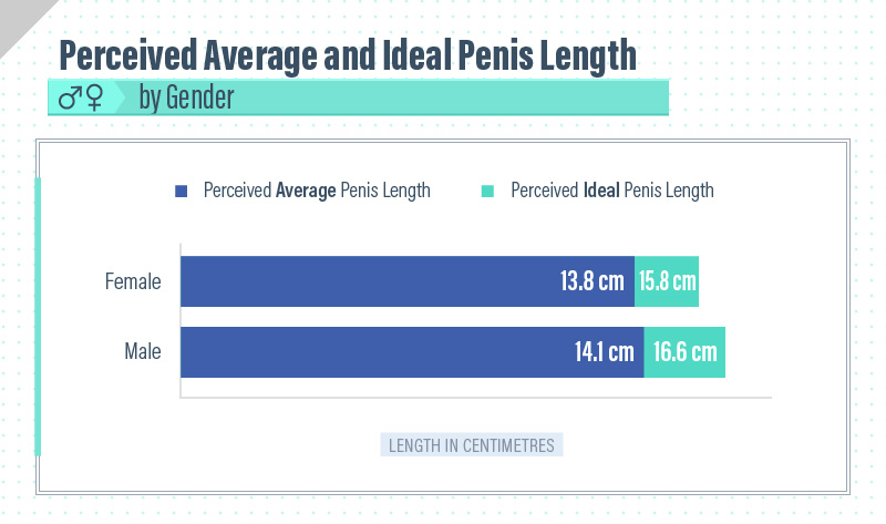 Which countries have the biggest penis size