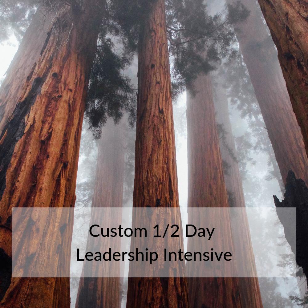 Custom 1/2 Day Leadership Intensive
