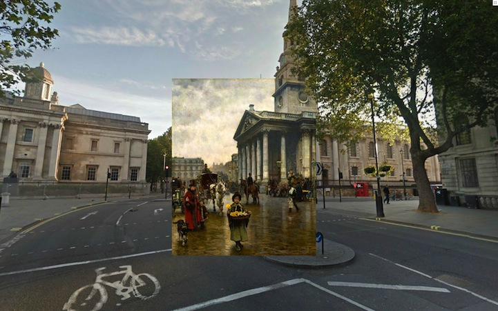 St. Martins in the Fields (1888) by William Logsdail