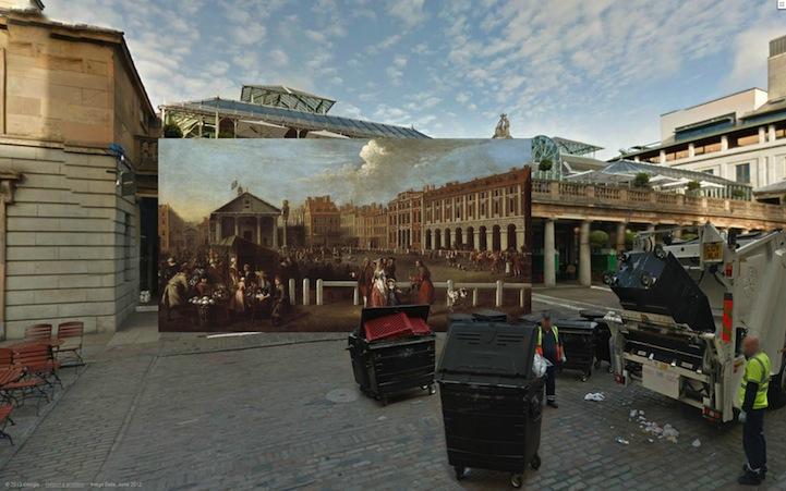 Covent Garden Market (1737) by Balthazar Nebot