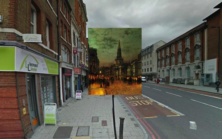 Blackman Street London (1885) by John Atkinson Grimshaw