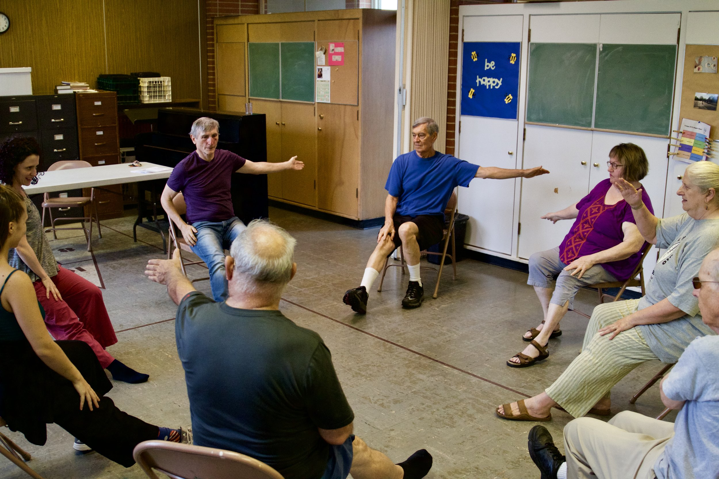In Motion: Movement Class for Adults Over 50