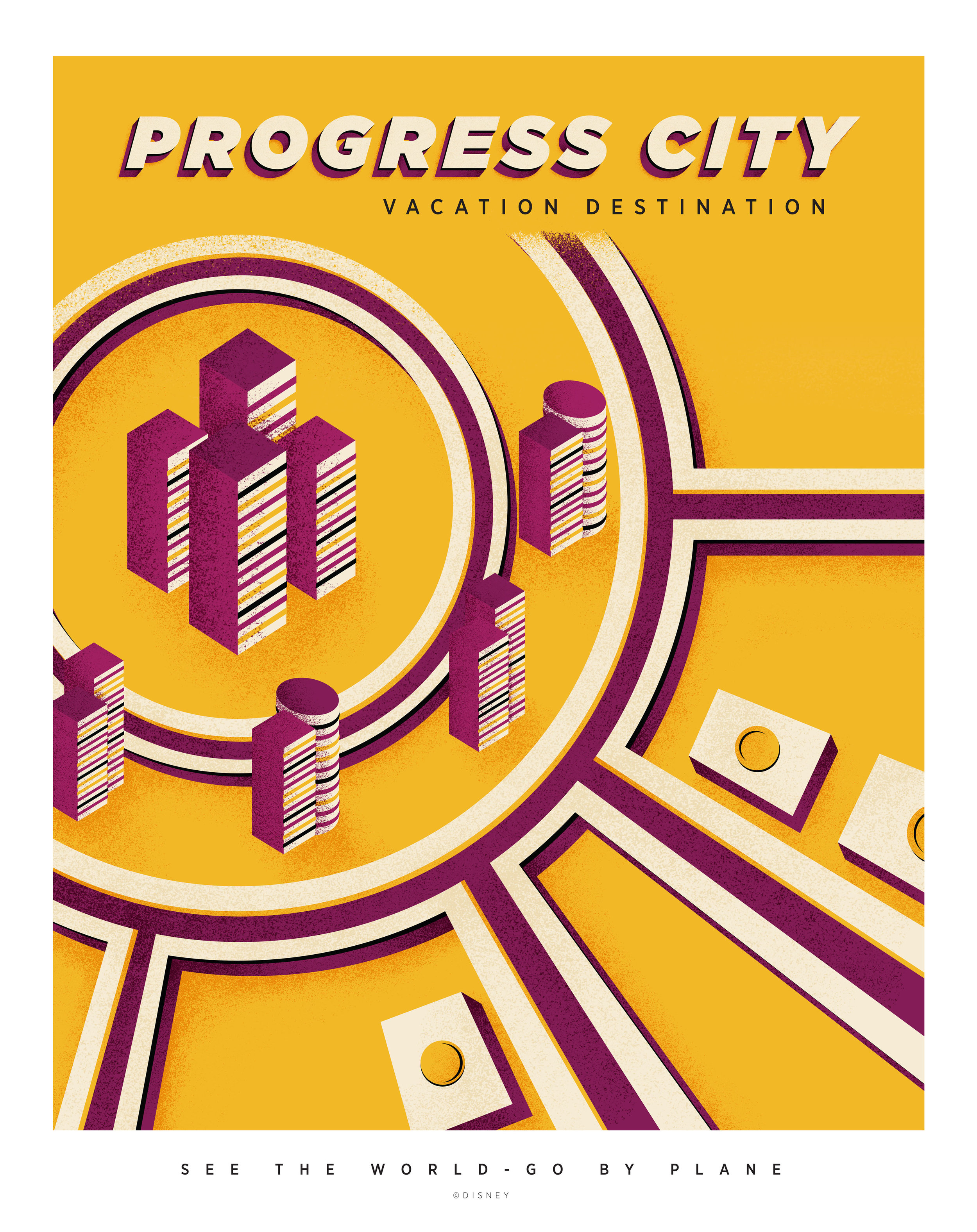 Progress City travel poster (click to enlarge)