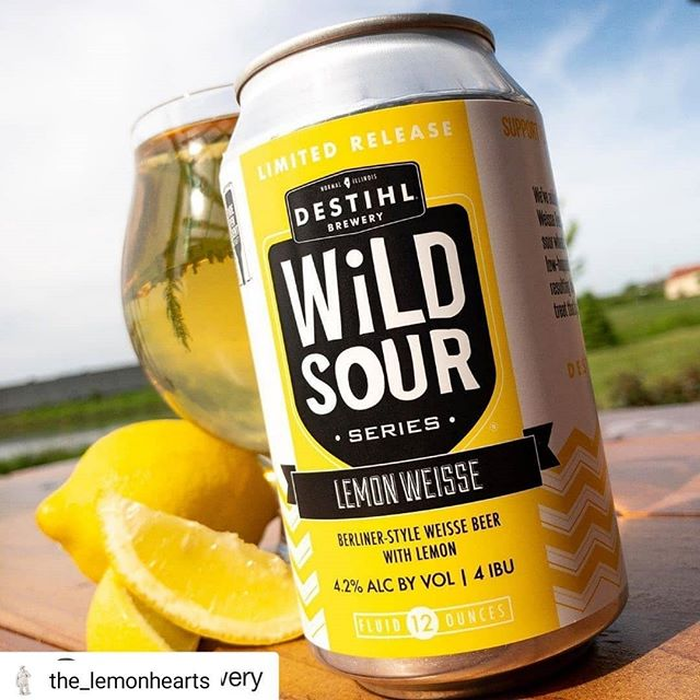 @destihlbrewery Lemon Weiss coming soon to #southflorida! Perfect timing since it's been so damn hot here in #miami! #refreshing #lemon #sour #beer