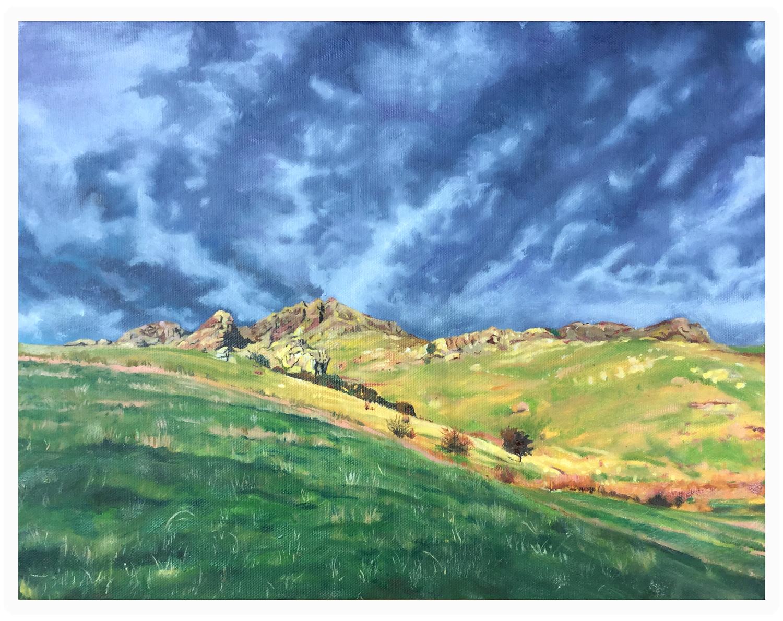 Oil on Canvas Purau