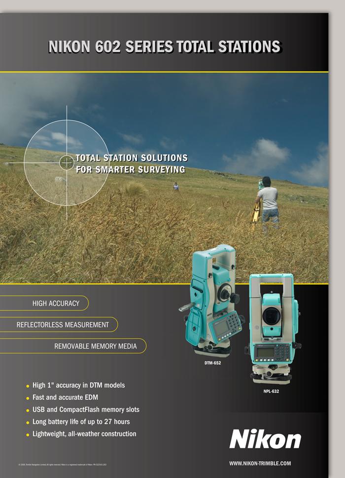 Survey Division - Nikon Poster