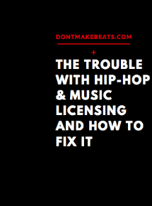 I spent many years annoyed that hip hop producers didn't find more success with sync licensing. With this brief ebook, you'll see why that is and how to get around it.