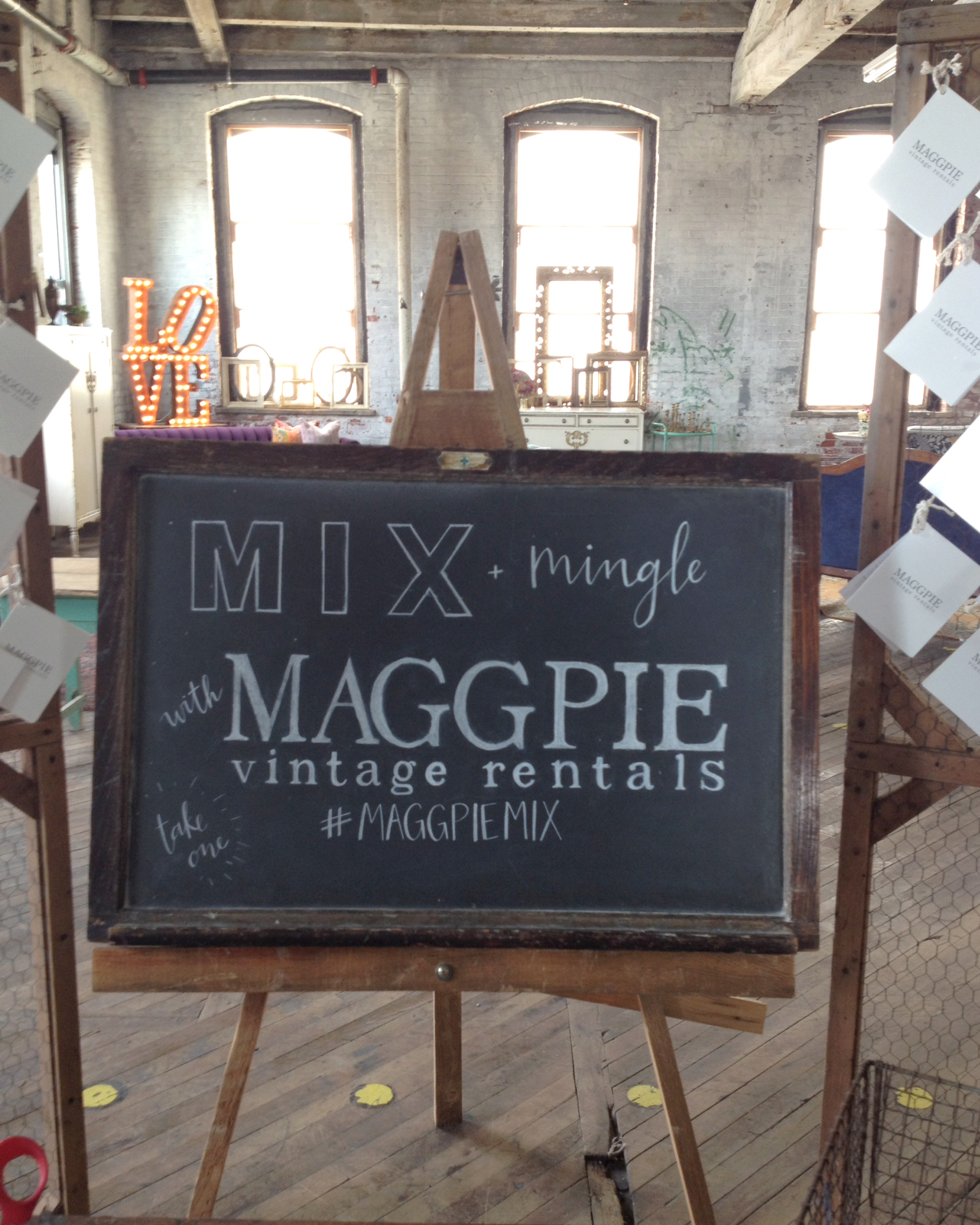 #maggpiemix chalkboard lettering by hello, bird // ashley wrenn-peterson // philadelphia