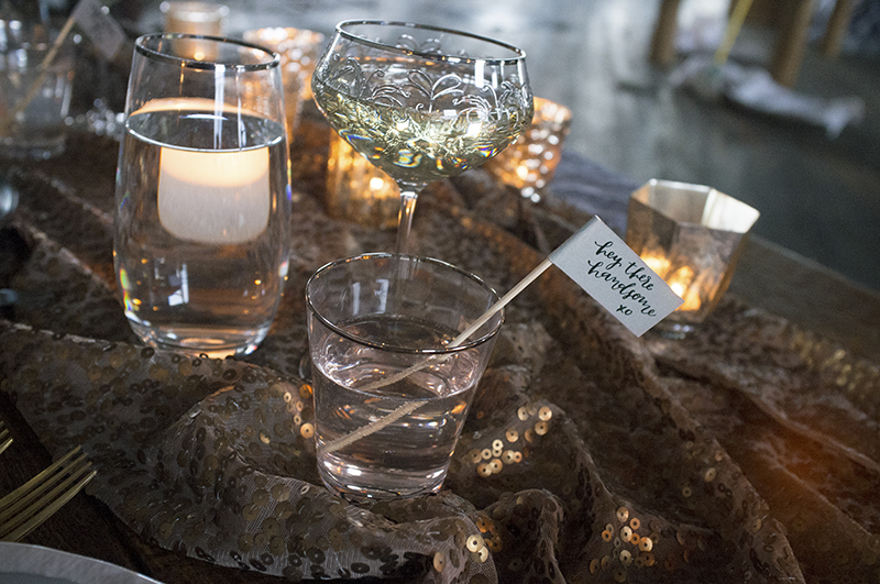 hello, bird's #14daysofsweethearts table // furniture + hosted by  maggpie vintage rentals // photos by kyle peterson