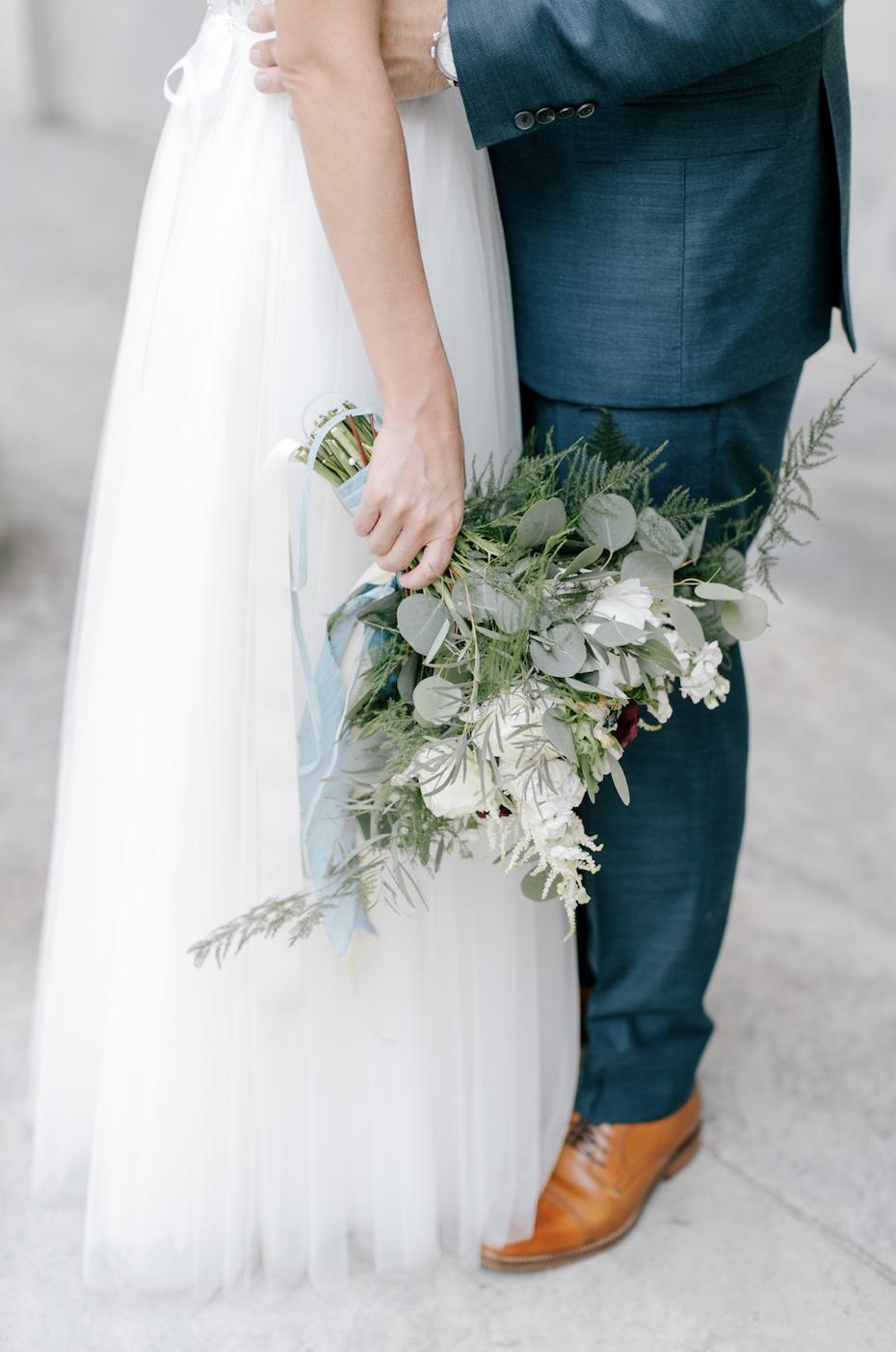 Jen + Billy's Philadelphia Wedding // florals by Devon + Pinkett // photo by Emily Wren Photography