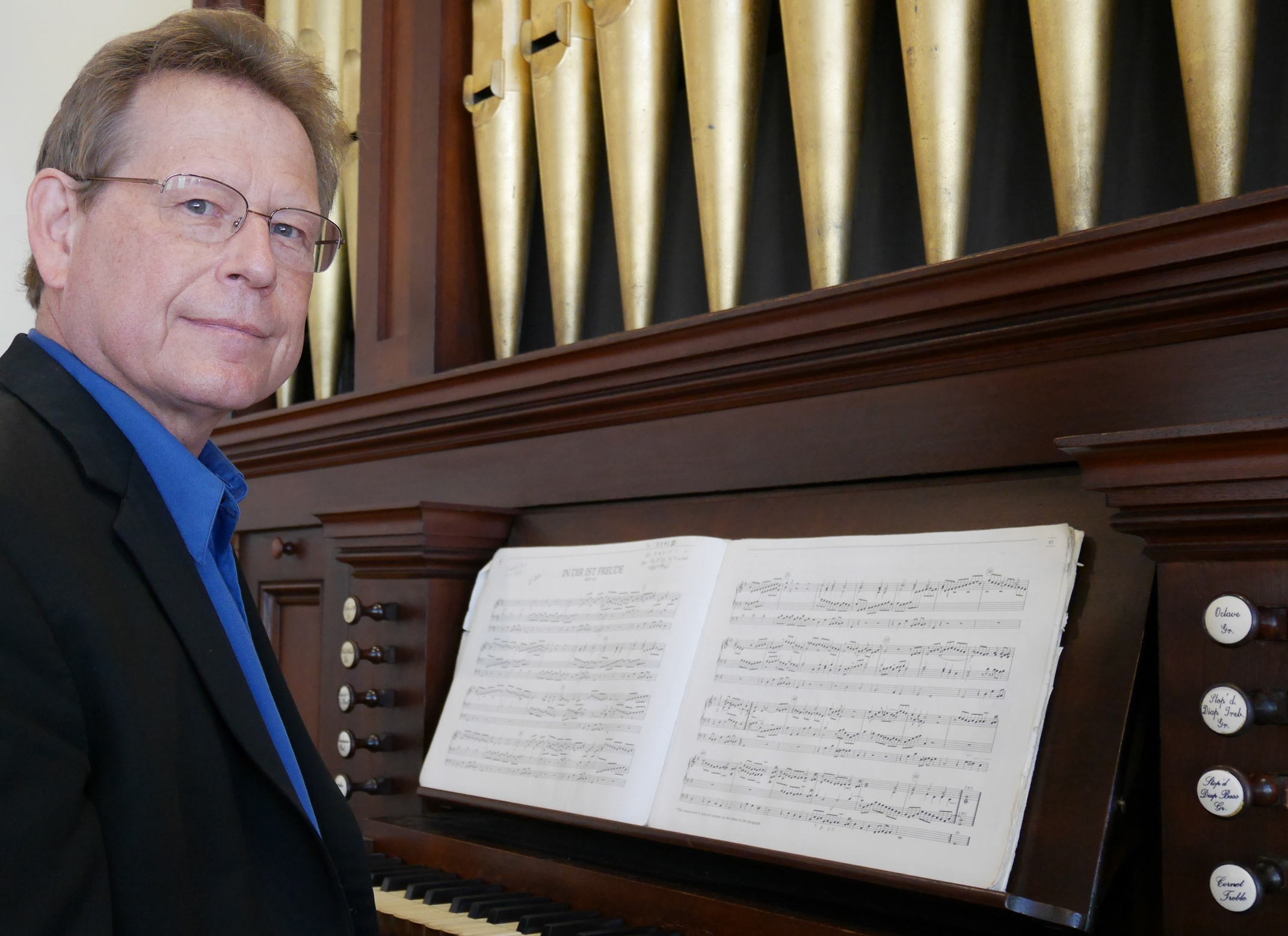 October 24 (8pm) October 25 (4pm)    Baroque Organ Concertos with strings   featuring La Follia director and organist  Keith Womer  on the historic 1862 Holbrook Organ at Redeemer Presbyterian Church in Austin   (more...)