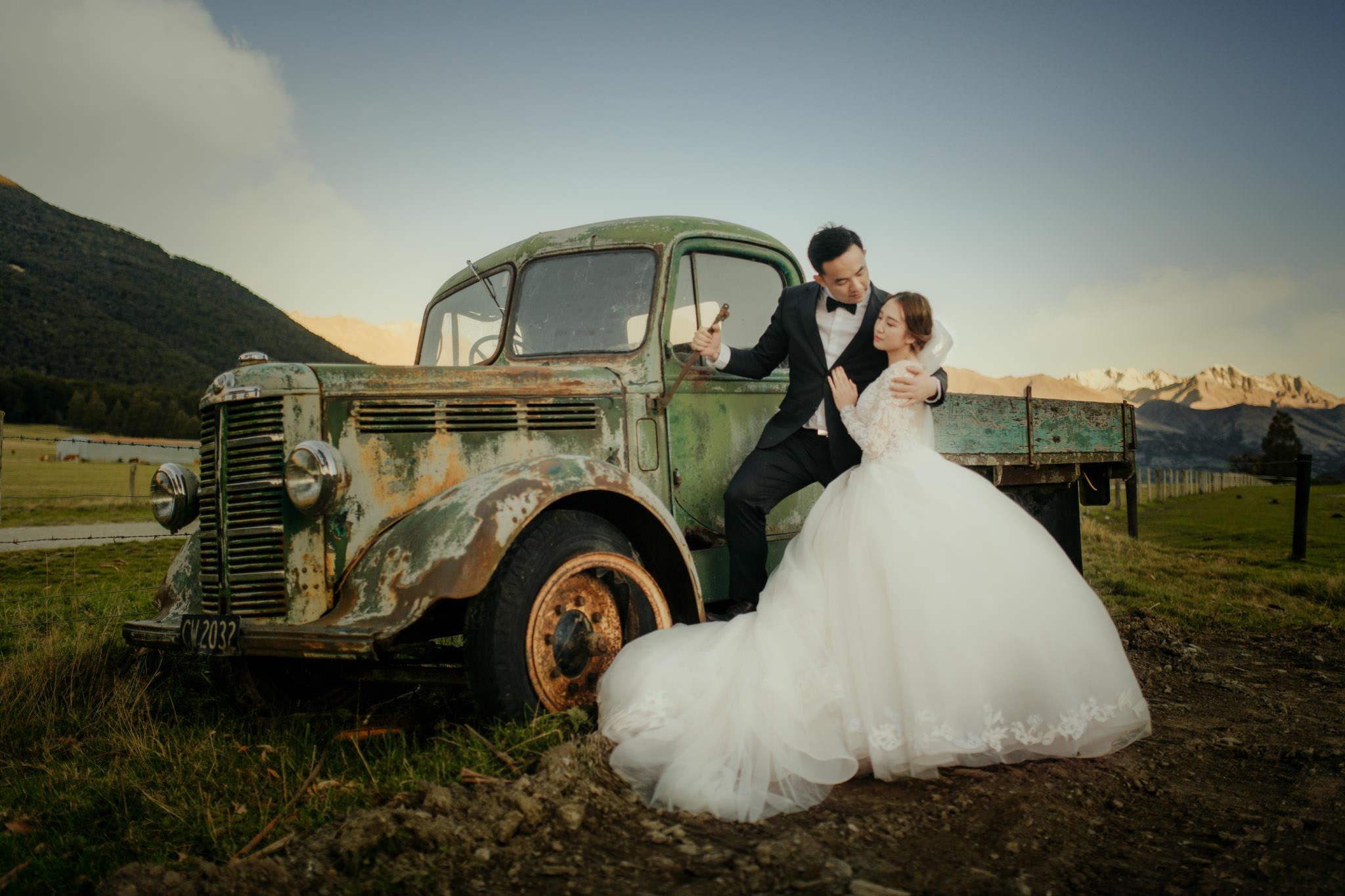 Queenstown New Zealand Prewedding ニュージーランド クイーンズタウン ウェディング 前撮り