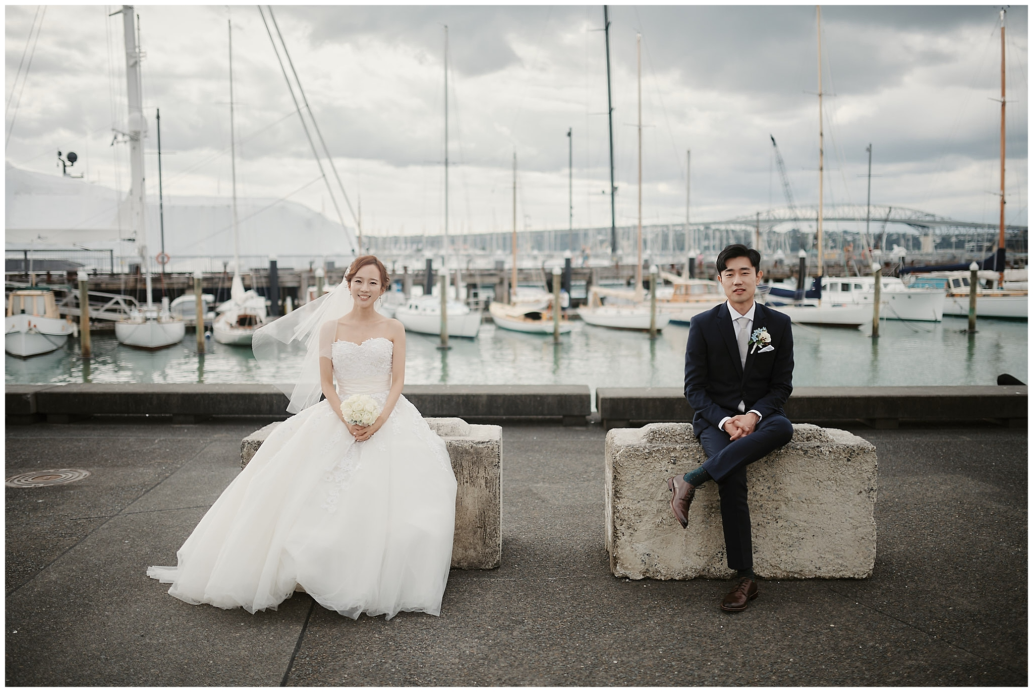 Auckland New Zealand Prewedding Photographer