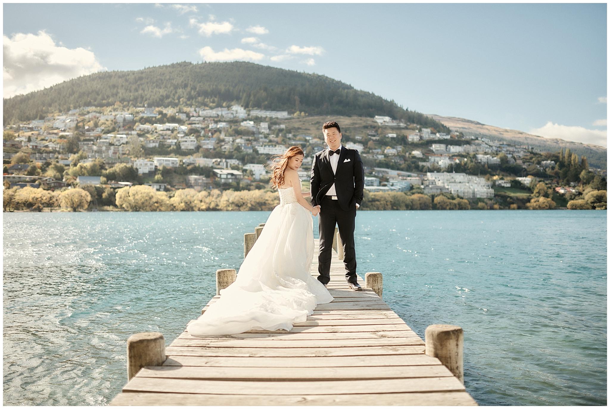 Queenstown Tekapo New Zealand Prewedding Wedding Photographer  ニュージーランド クイーンズタウン テカポ ウェディング 前撮り フォト