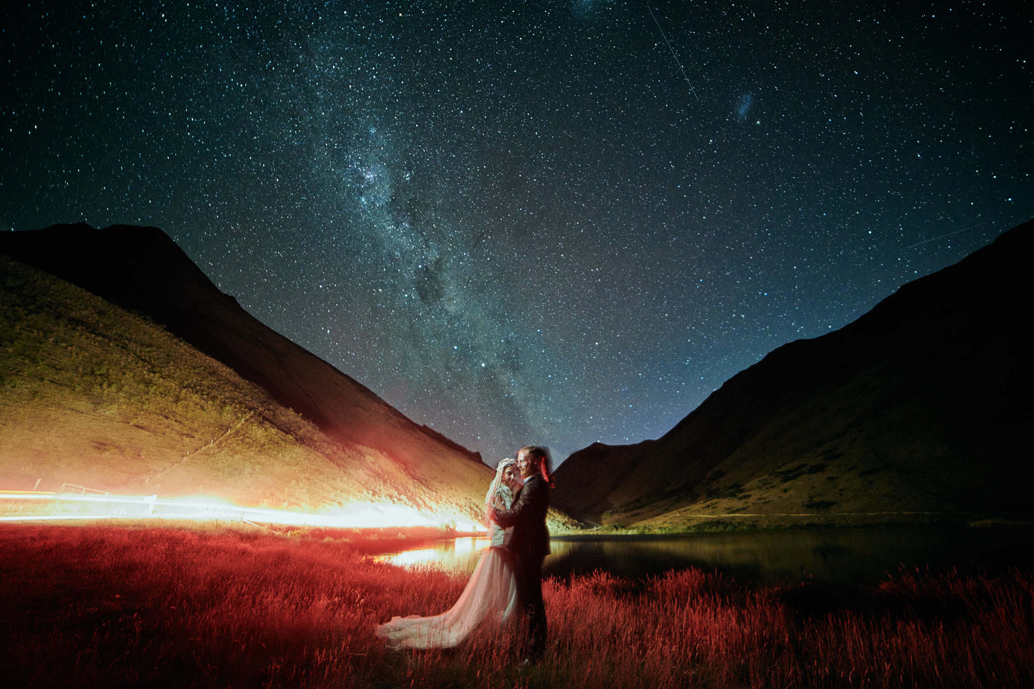 Queenstown Milkyway Wedding Photographer