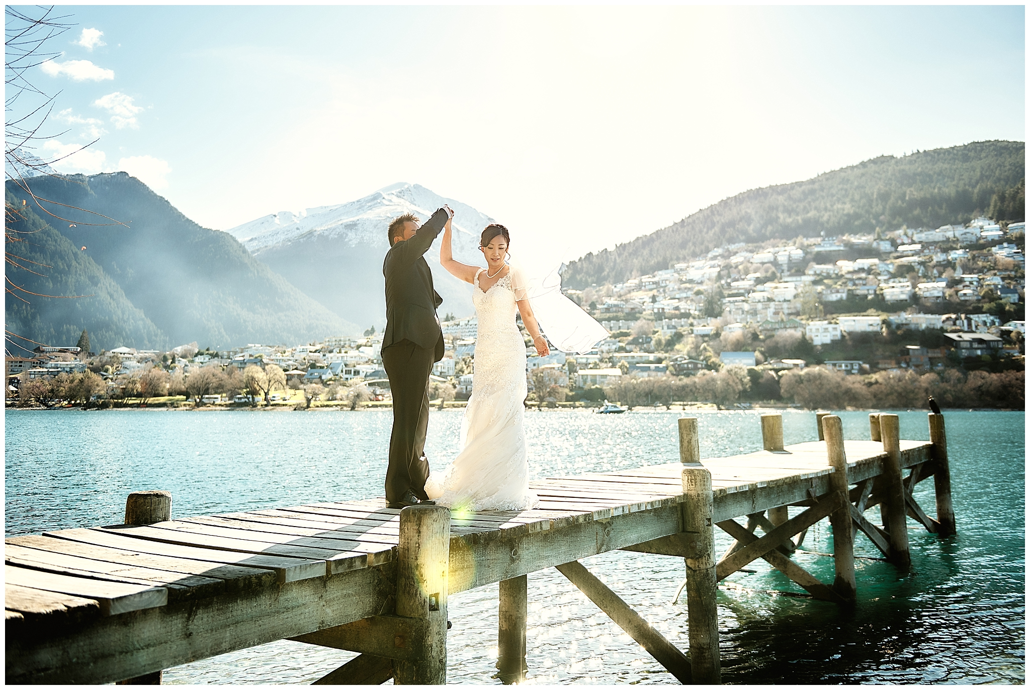 Queenstown New Zealand Prewedding Wedding Photographer