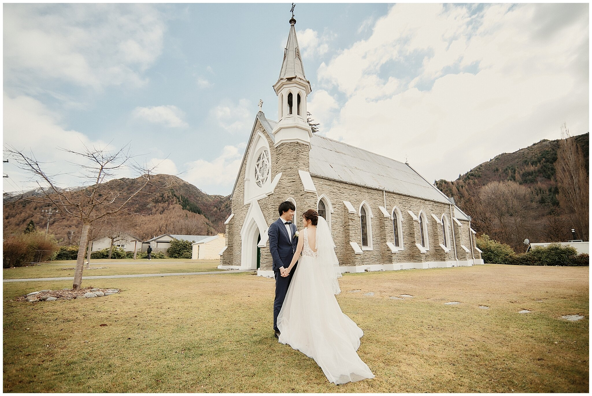 Arrowtown St Paul's Church Wedding Prewedding Photographer