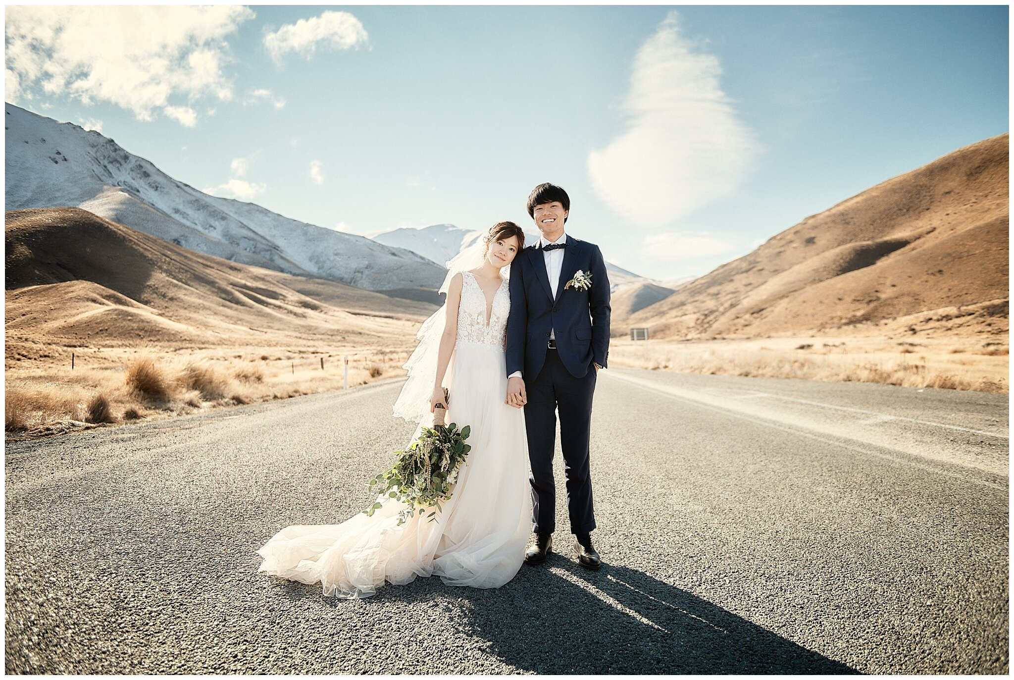 Lindis Pass Wedding Prewedding Photographer