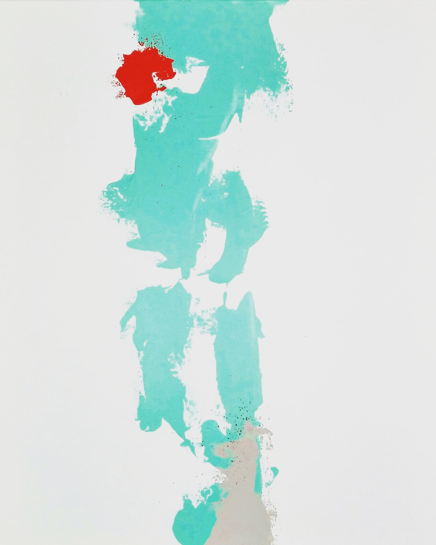 """RISE / acrylic / 16"""" x 20"""" on canvas"""