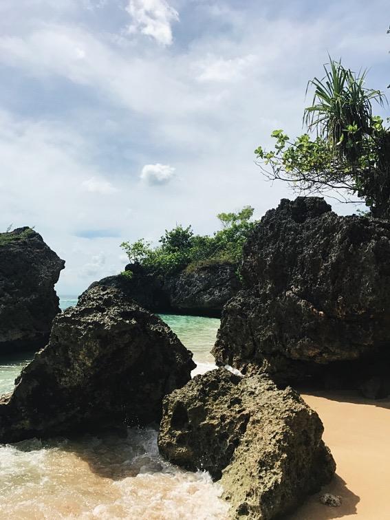 Padang Padang Beach Eat Pray Love Bali Indonesia