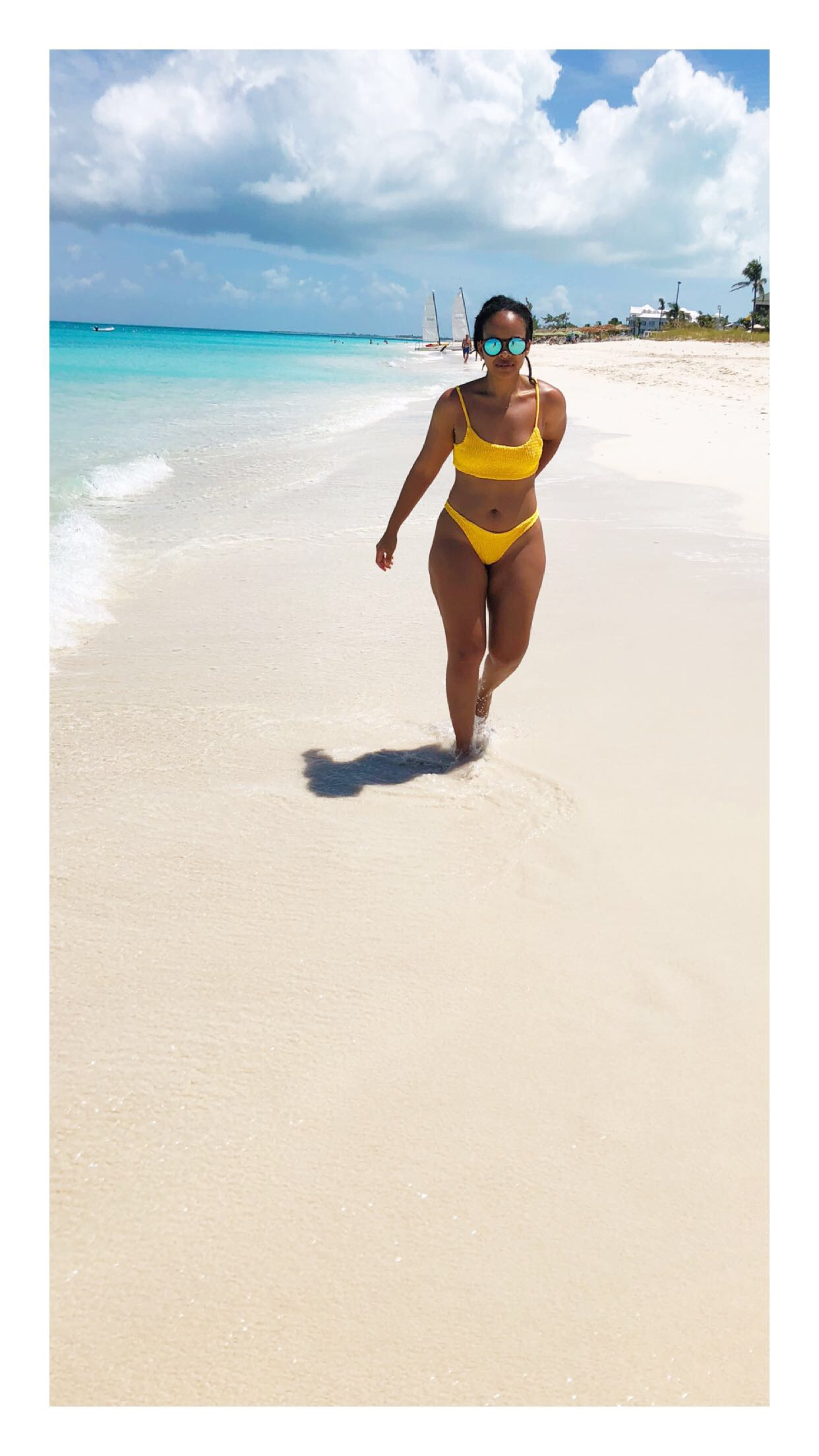 Black Girl Magic Turks and Caicos Providenciales Beach Grace Bay
