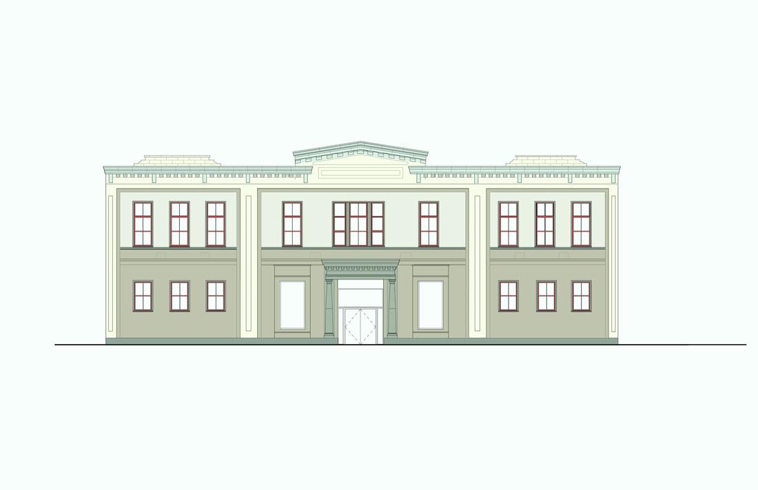 Family Justic Center, Boston, proposed facade color