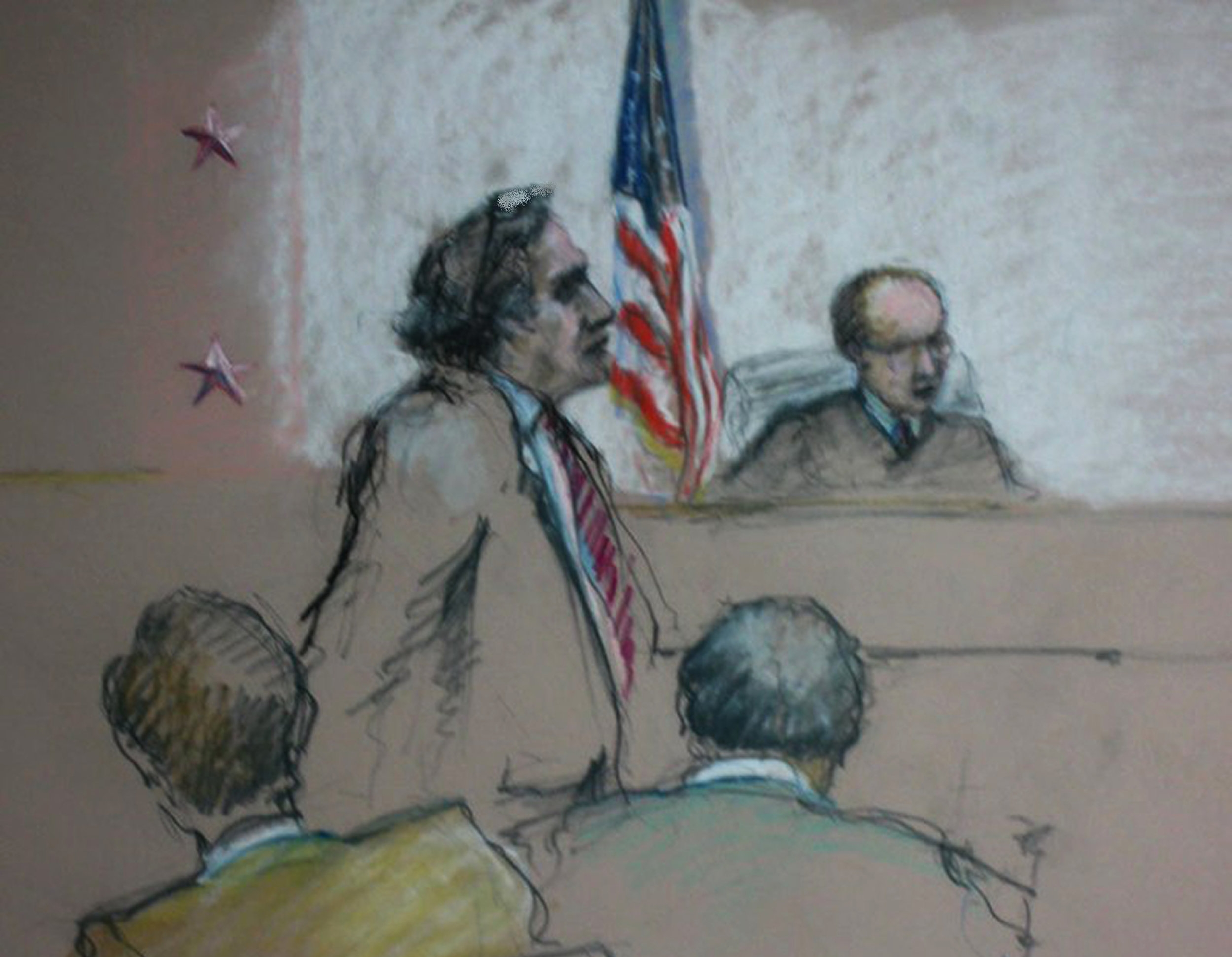William Kunstler, defense attorney