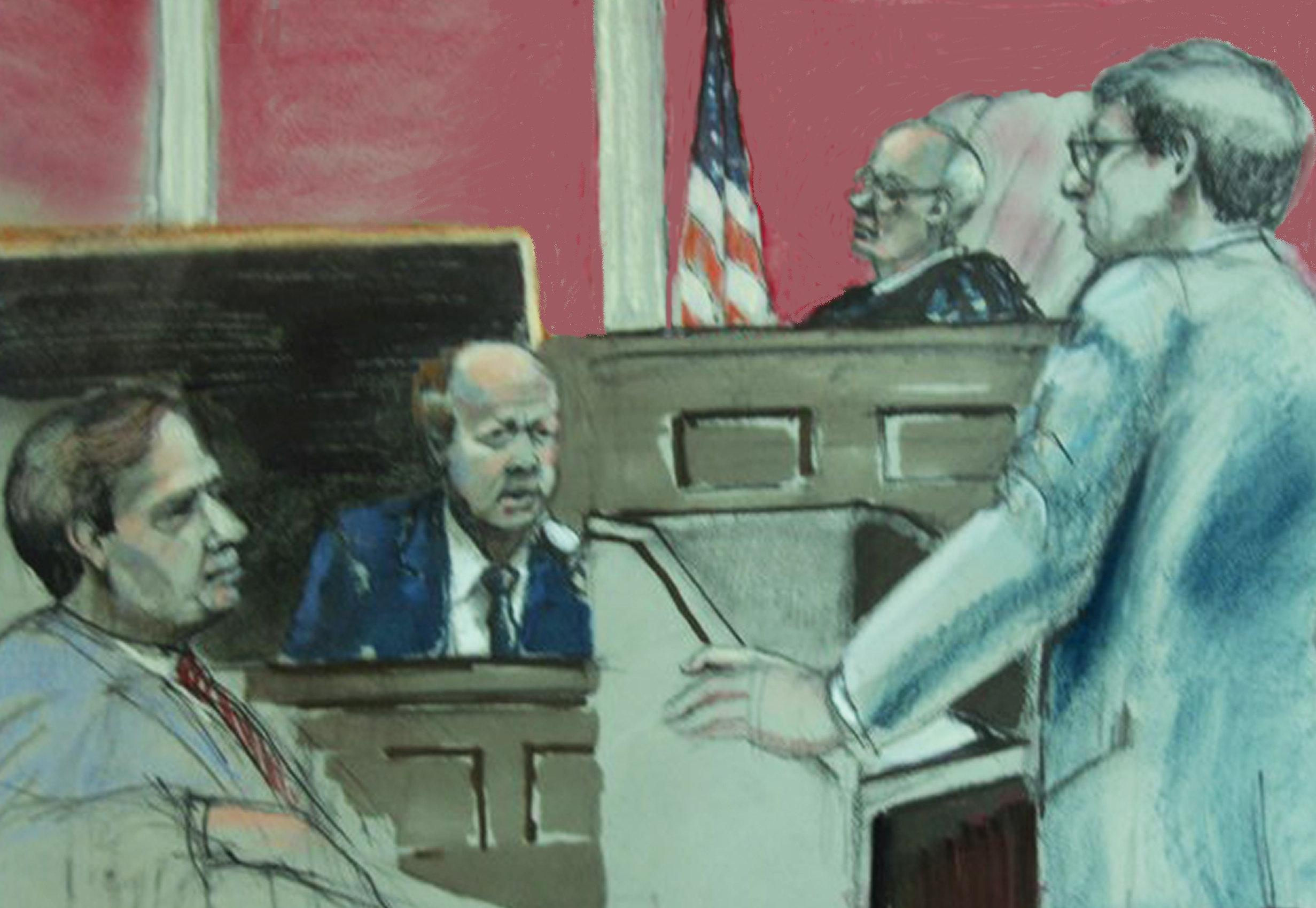 Witness against Shaffran