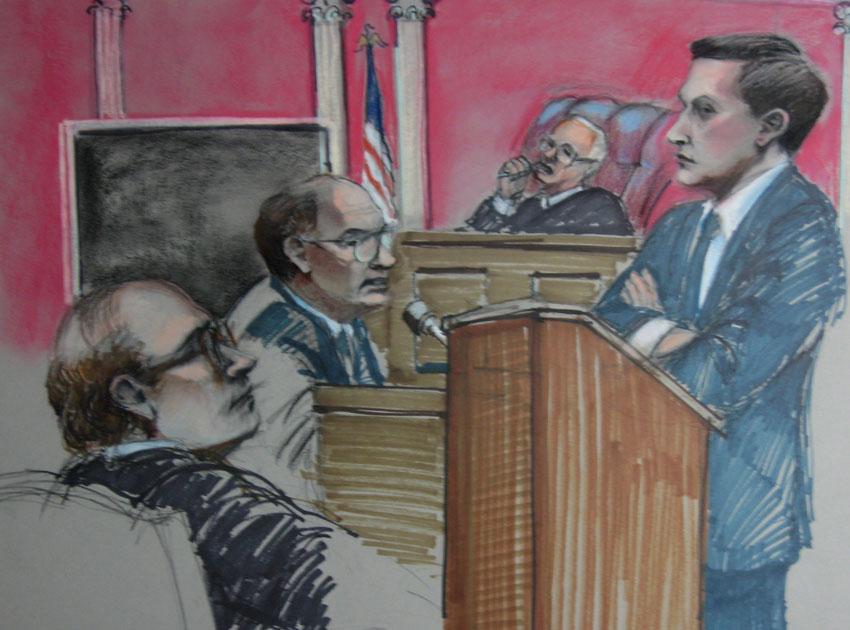 Attys.Giuliani & Puccio, Judge Knapp, &Witness