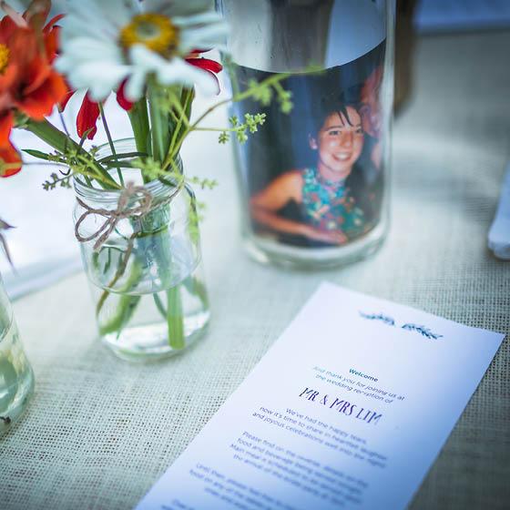 Ryan & Leonie   Wedding invite & stationery suite