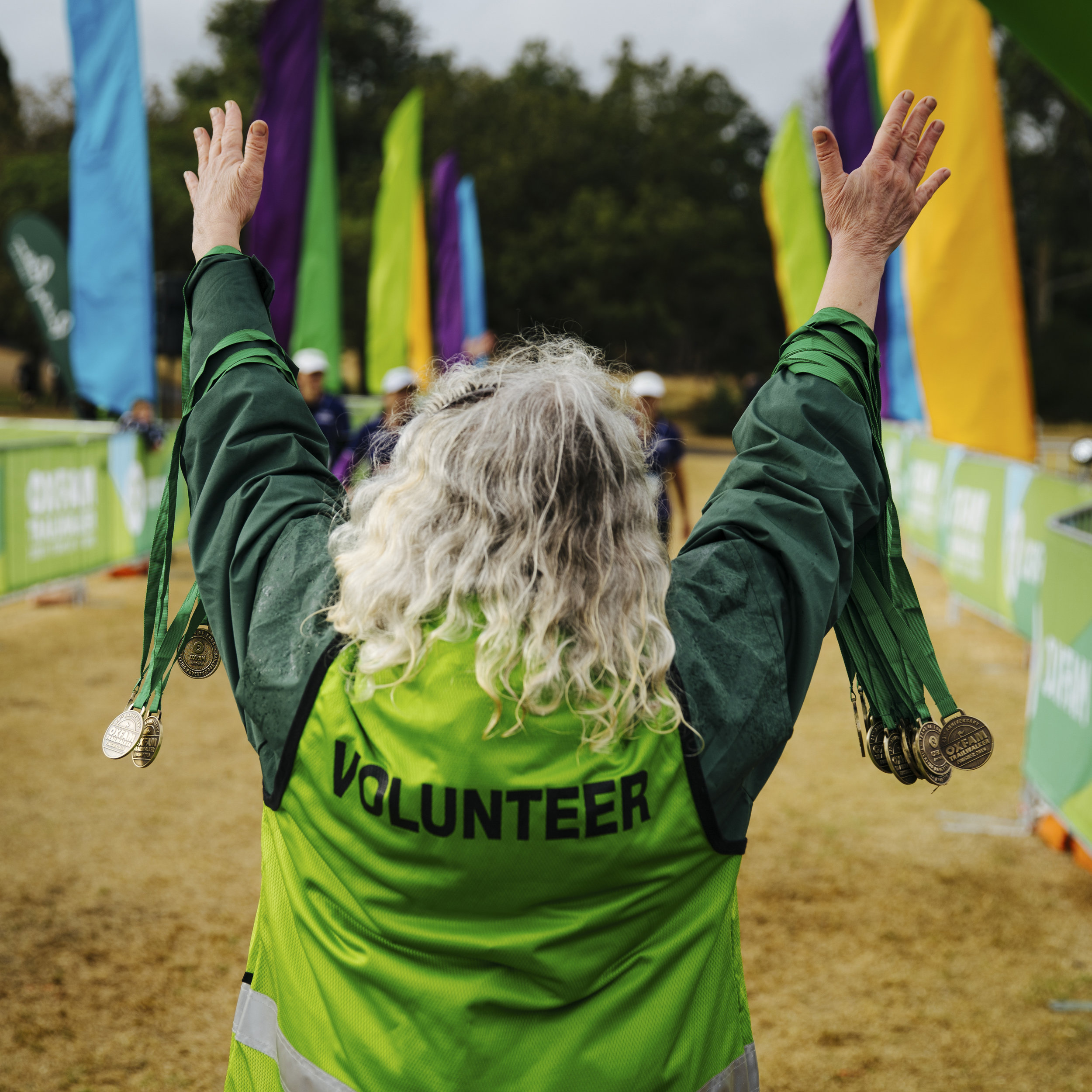 Oxfam Trailwalker   Event collateral, branding and social media content