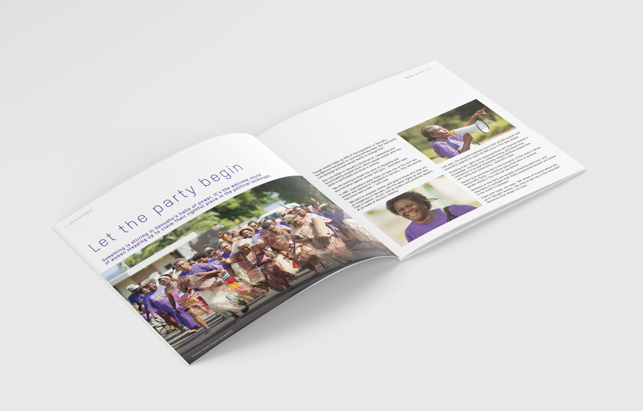 Oxfam Voices publications