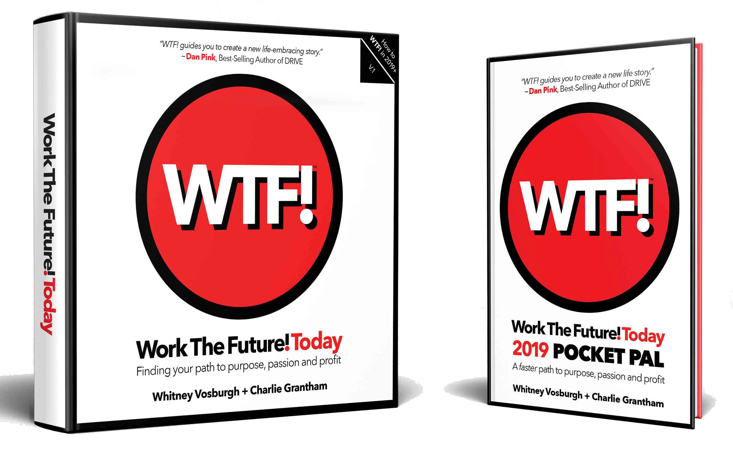 Both books available on Amazon as print and ebooks.