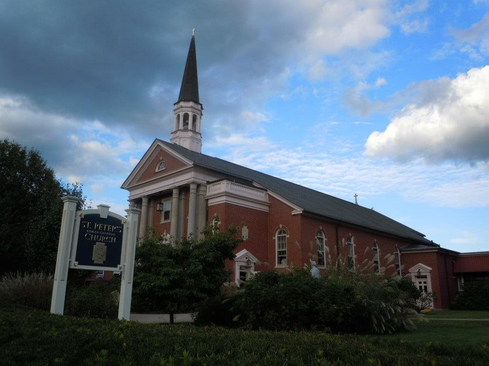 READ THE HISTORY OF ST. PETER PARISH  >>