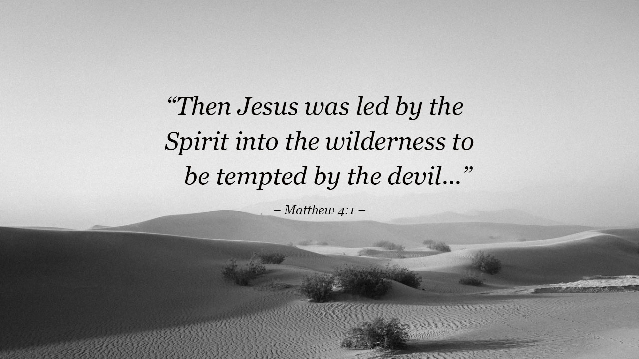 Image result for jesus in the desert images