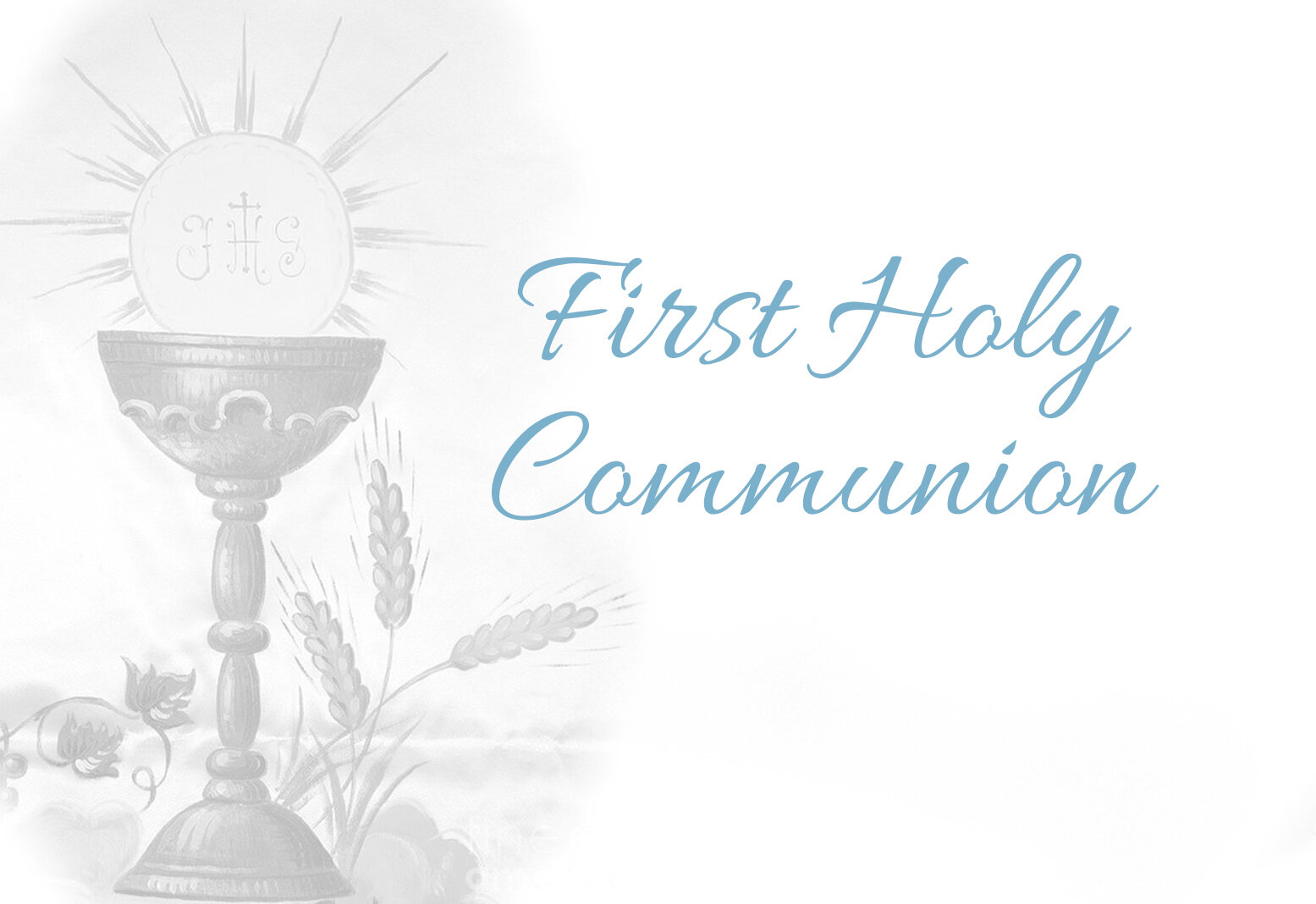 First Holy Communion — St. Peter's Chuch
