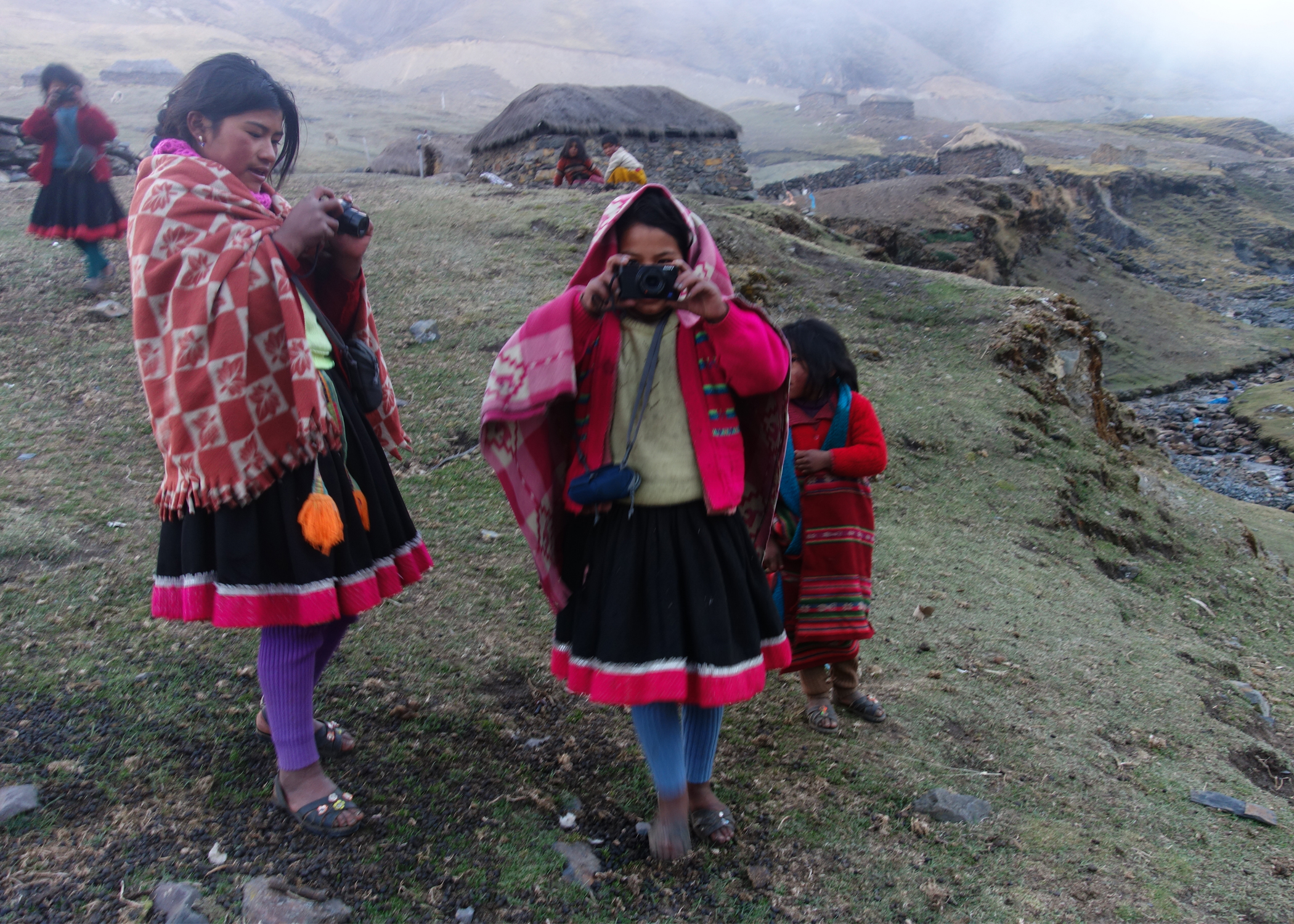 Sneak peak from our Snapshot Project in the mountaintops of Peru that is coming soon!
