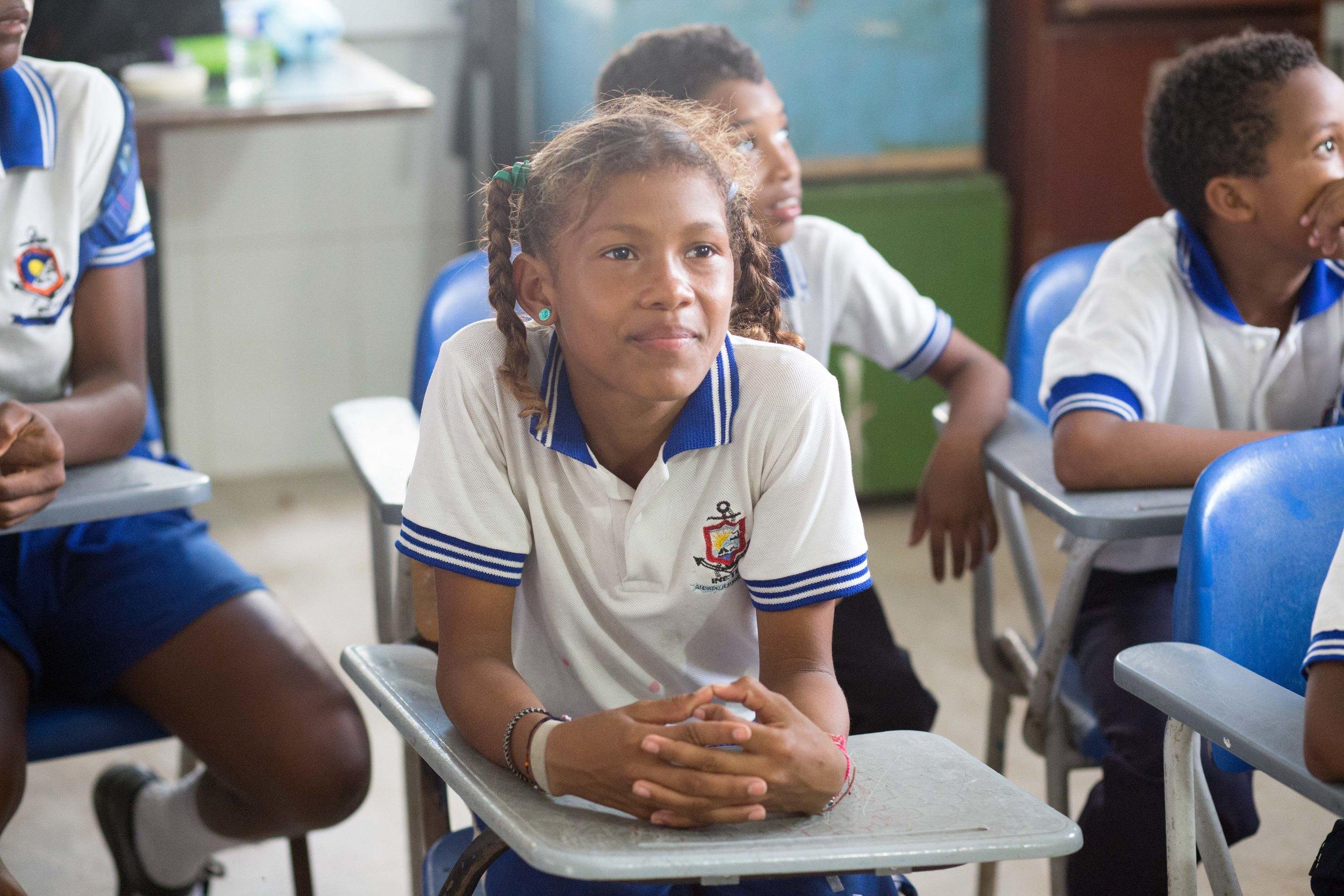 EMPOWERMENT - Thanks to your support of our recent Flagship Project in Colombia and to their hard work, we empowered one group of kids to fund priority supplies for themselves and their peers.Watch and see their excitement and pride firsthand.