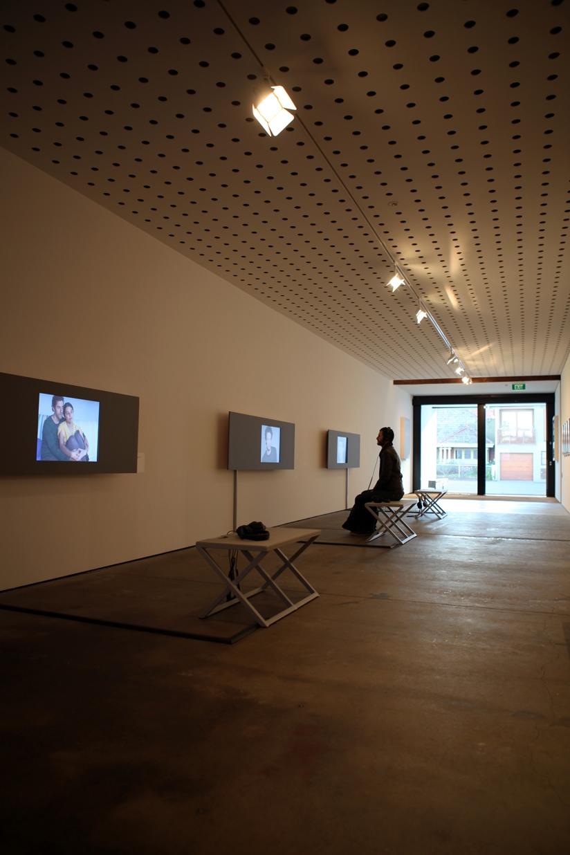 True Self: David Rosetzky Selected Works , 2013 (install)  Photograph: Maura Edmond
